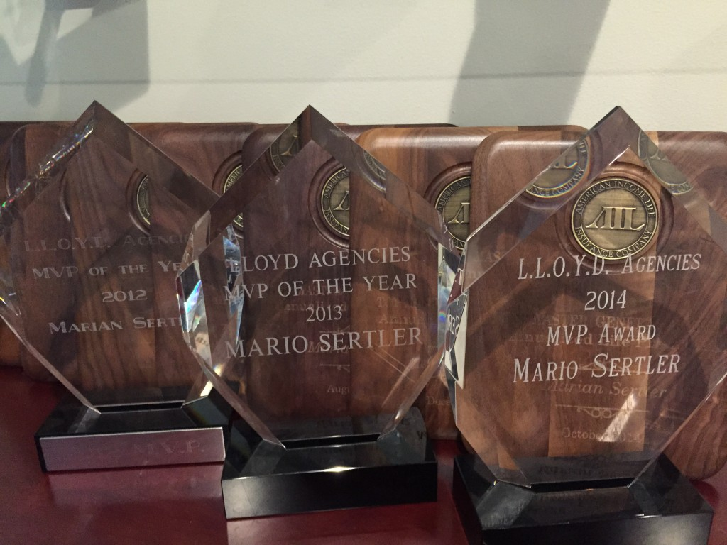 Lloyd Agencies Awards