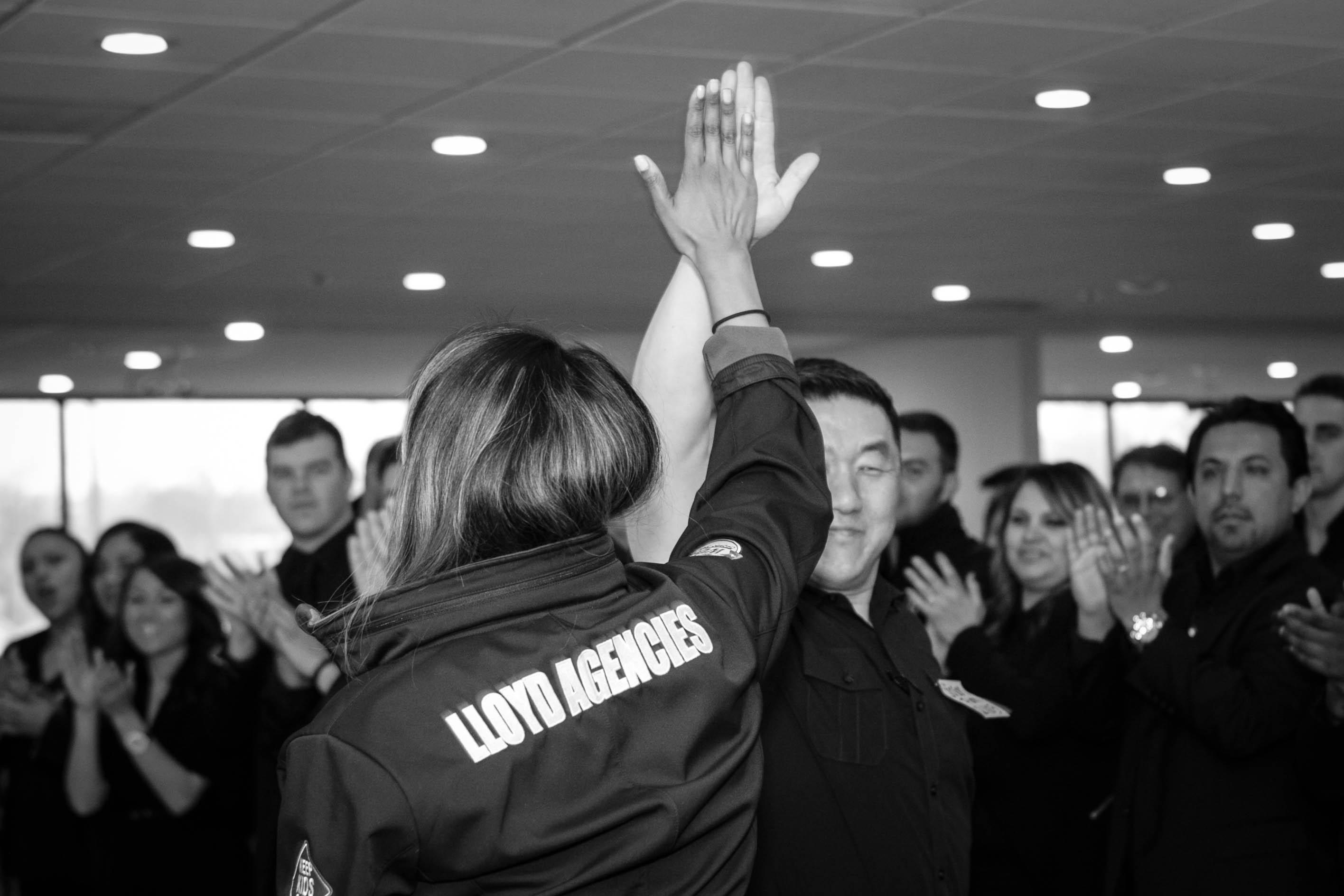 Lloyd agencies - team training