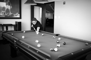 Lloyd Agencies Billiard Room