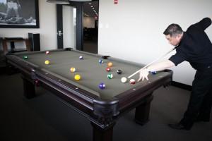 Lloyd Agencies Billiard Room