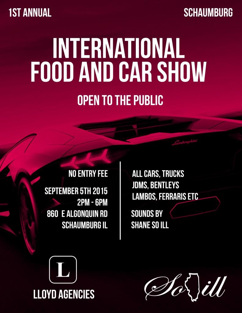 Lloyd Agencies Food and Car Show